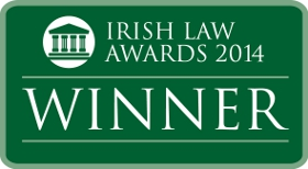 McCarthy & Co. Solicitors Winners of the Legal Website of the Year at the Irish Law Awards 2014