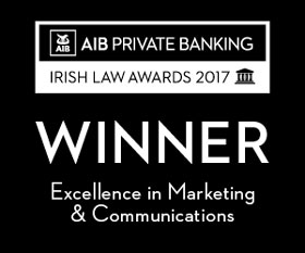 winner in 2017 irish law awards