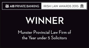 irish law awards 2015 winner