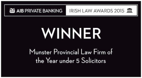 mccarthy and co solicitors winner in irish law awards 2015