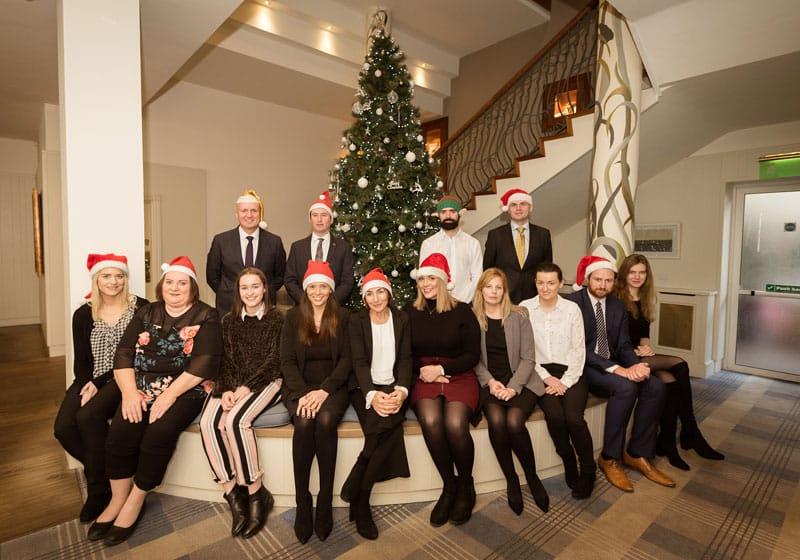 McCarthy + Co Team Photo Christmas 2018