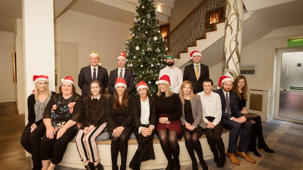 McCarthy + Co. Personal Injury and Medical Negligence Solicitors - Team Christmas Photo