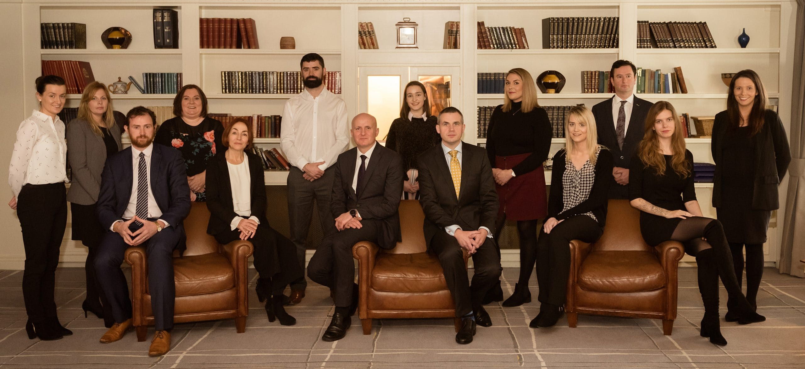 McCarthy + Co. Personal Injury Claims and Medical Negligence Solicitors - Team Photo November 2018
