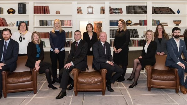 The Team at McCarthy + Co. Personal Injury and Medical Negligence Claims Solicitors