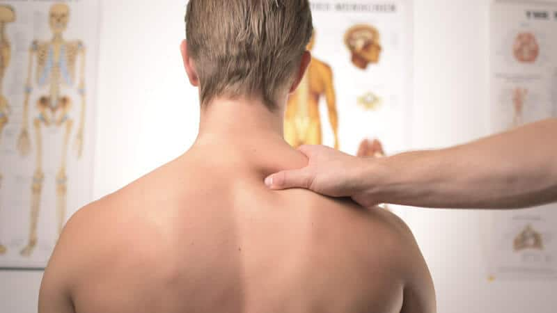 Back injury patient