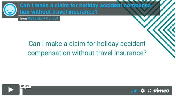 Can I claim without travel insurance?